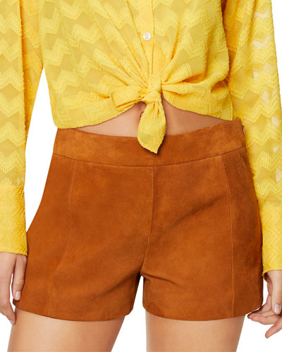 Adele Suede Shorts