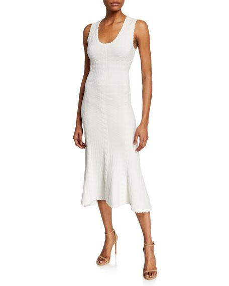5ce42593693da Diane von Furstenberg Clover Scoop-Neck Sleeveless Midi Dress