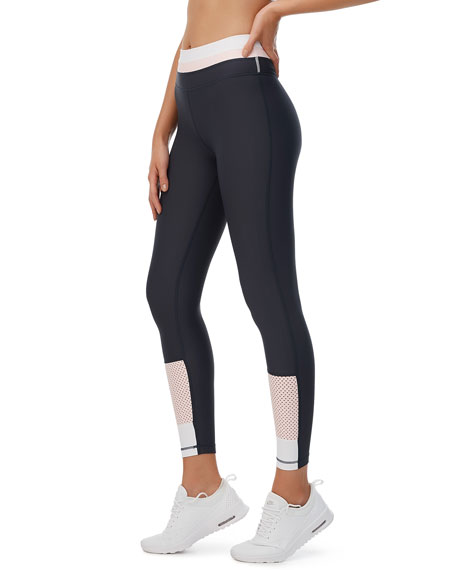 All Fenix All Prene Colorblock Mesh Leggings