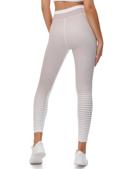 Aria Stripe High-Rise Active Leggings