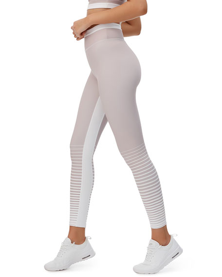 All Fenix Aria Stripe High-Rise Active Leggings