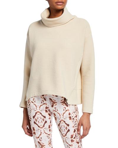 Colina Ribbed Sweatshirt