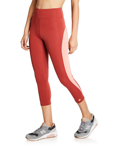 Rejoyce Cropped Performance Leggings
