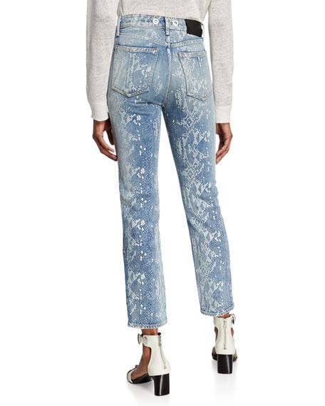Nina High-Rise Ankle Cigarette Jeans