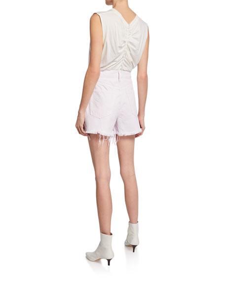The Aficionado Cutoff Denim Shorts