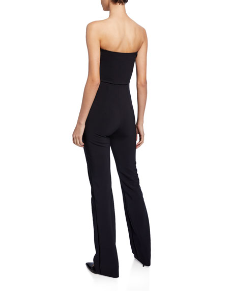 Sweetheart Strapless Straight-Leg Jumpsuit