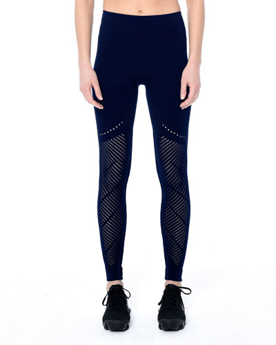 Laurel Warp Mesh Performance Leggings