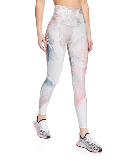 6850c93f30 Onzie High-Rise Graphic Midi Yoga Leggings