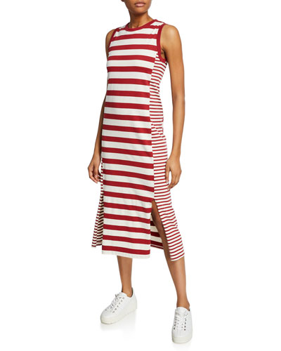 23948c4808e4a The Perfect Muscle Tee Striped Dress Quick Look. Current/Elliott