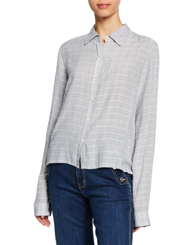 The Pearl St Striped Button-Down Shirt
