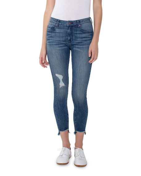 Parker Smith Jeans TWISTED SEAM SKINNY JEANS