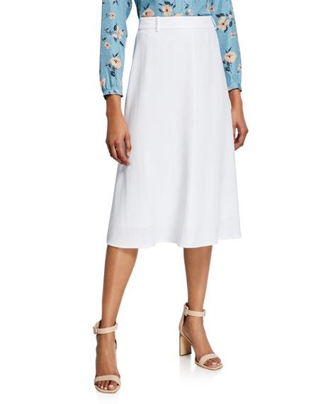 Kobi Halperin Dakota A-Line Midi Skirt
