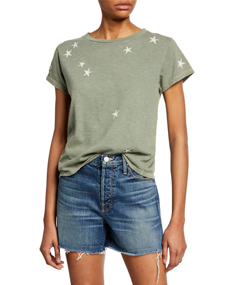 Mother Tops THE BOXY GOODIE GOODIE STAR TEE