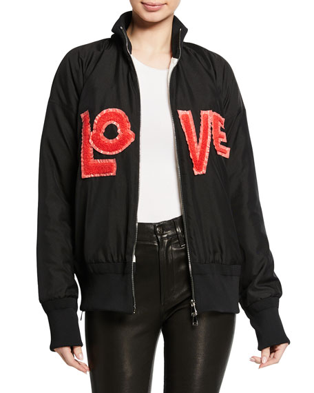 Moncler Genius Embroidered LOVE Jacket