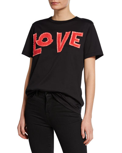 Moncler Genius Embroidered LOVE T-Shirt