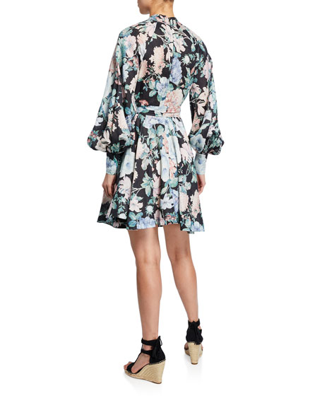 Verity Roulou Floral Mini Dress
