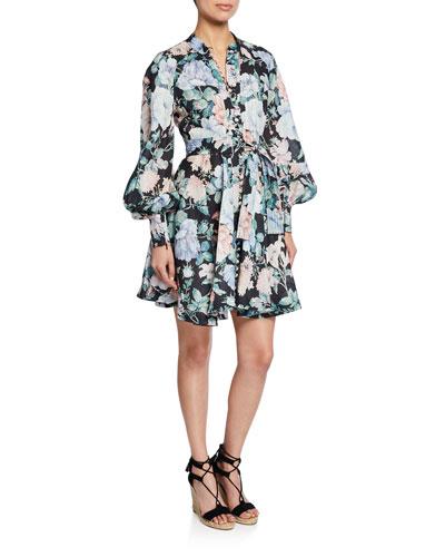 Verity Roulou Floral Mini Dress