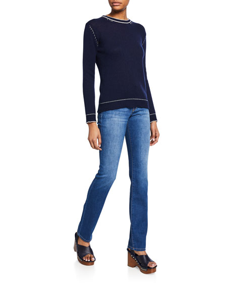 Nerium High-Rise Straight Jeans