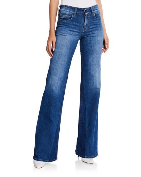 Atelier Notify Dahlia High-Rise Boot-Cut Jeans