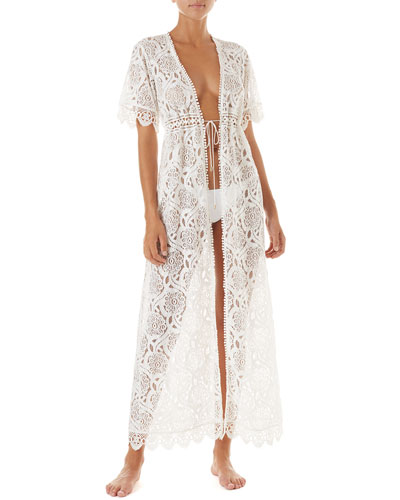 Gabrielle Lace Coverup