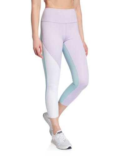 ef8b148ceeb84 color spliced high-rise active leggings Quick Look. kate spade new york