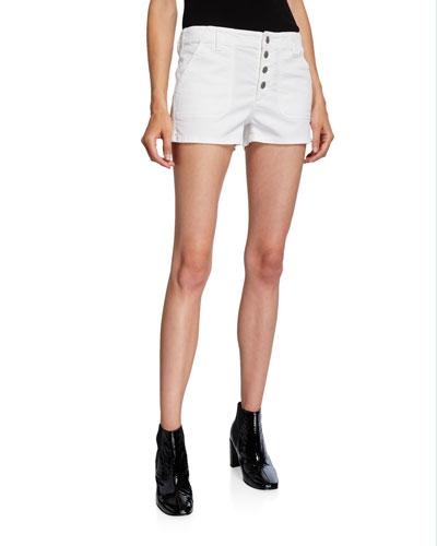 Nomey Low-Rise Utility Shorts