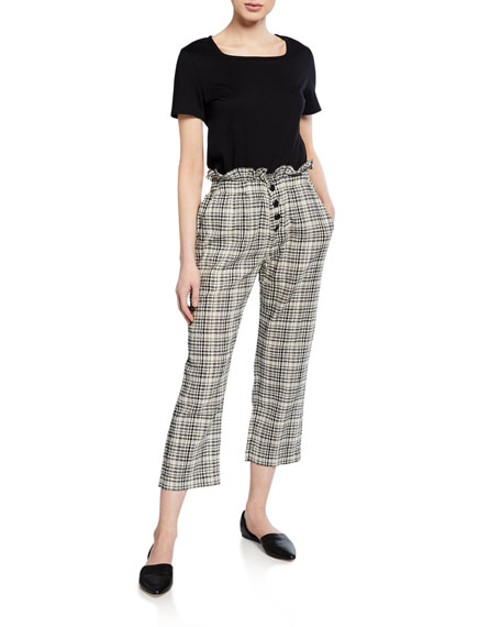The Gunny Sack Check Trousers