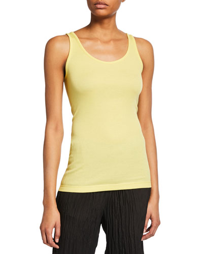 Scoop-Neck Tank Top