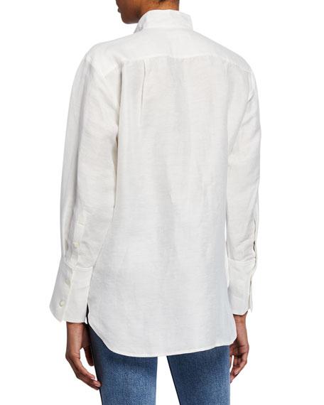 Clean Collared Tux Shirt