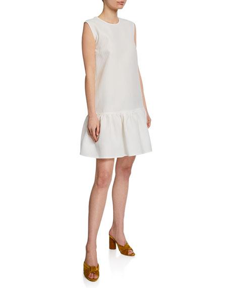 MSGM Sleeveless Ruffle Dress