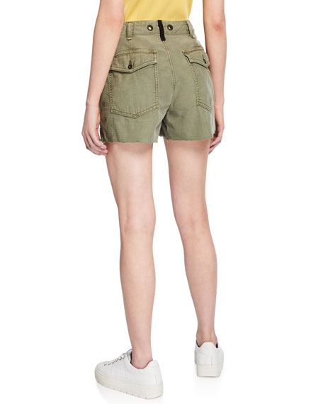 Super High-Rise Army Shorts