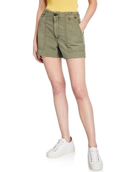a46daf0ed0f Rag & Bone Super High-Rise Army Shorts