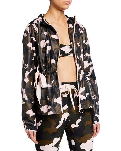 Ash Forest Camo-Print Active Jacket