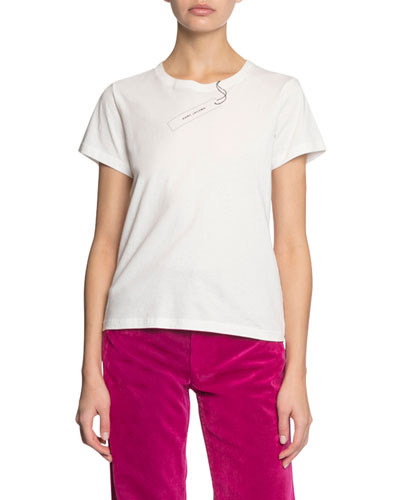 The Tag Short-Sleeve Logo T-Shirt