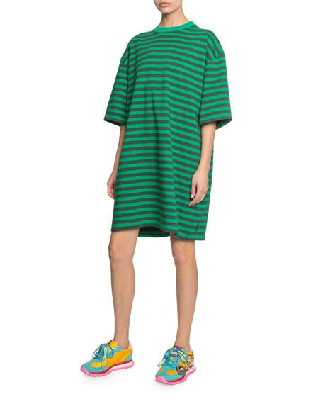The Striped T-Shirt Dress