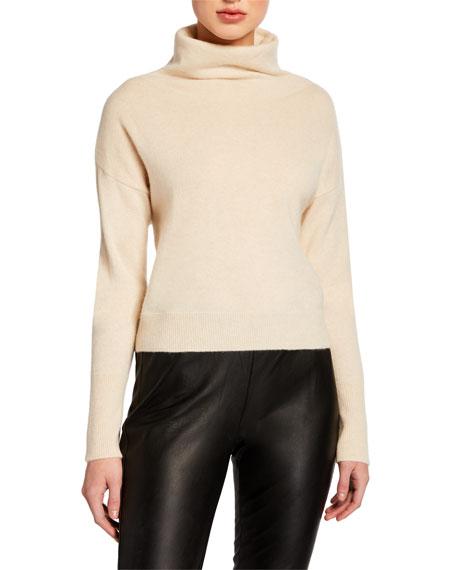 Saint Cowl-Neck Cashmere Sweater