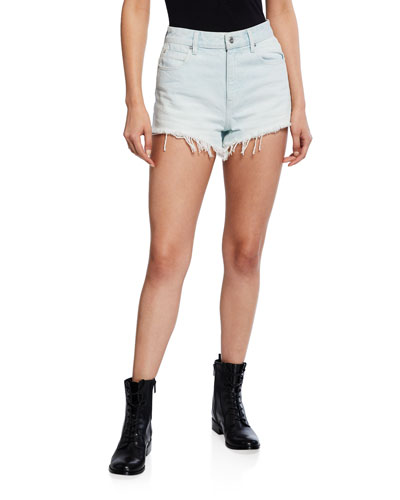 Bite High-Rise Cutoff Shorts
