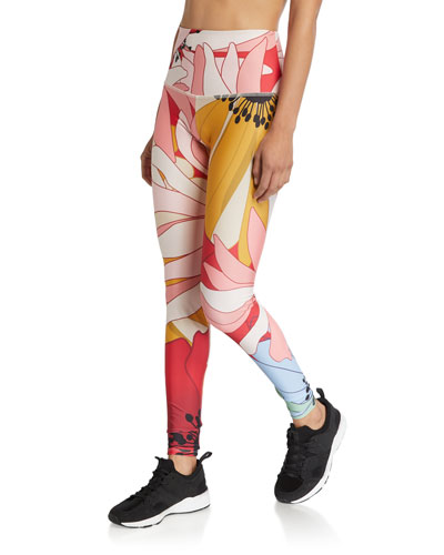 High-Rise Graphic Leggings