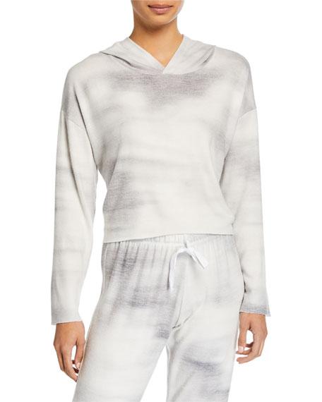 Onzie Weekend Tie-Dye Crop Hoodie Sweatshirt