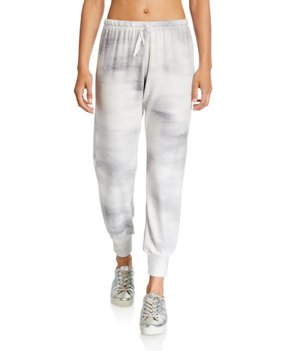 Tie-Dye Weekend Drawstring Jogger Pants