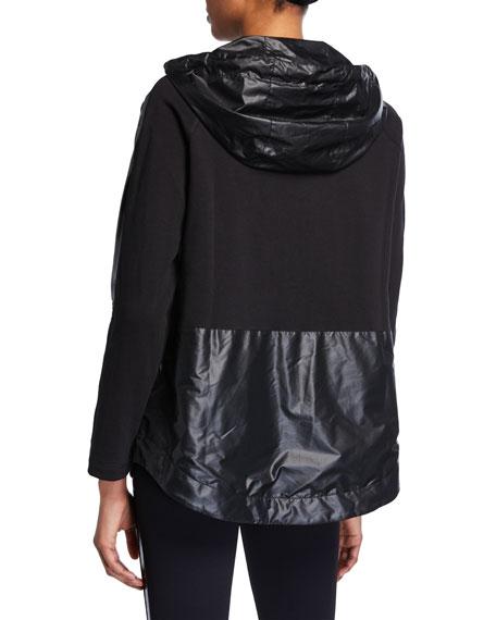 Niho Hooded Zip-Front Jacket