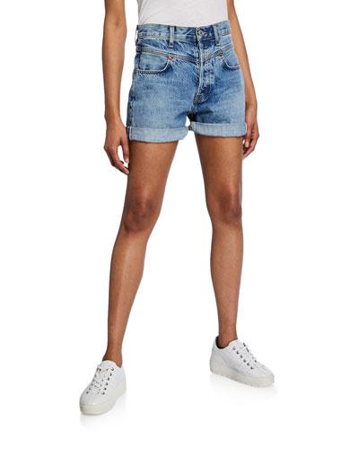The 90s Double-Yoke Shorts