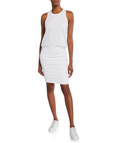 Sleeveless Racerback Dress