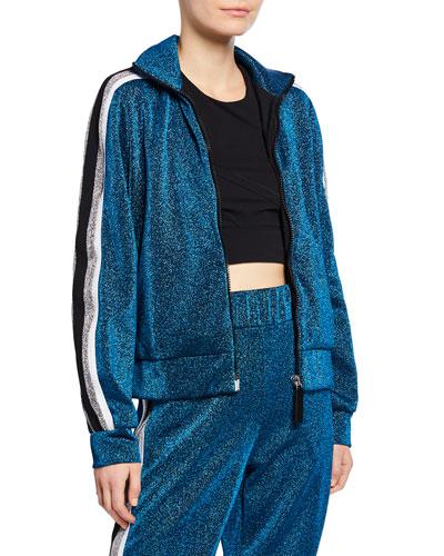Attitude Side Stripe Zip-Up Jacket