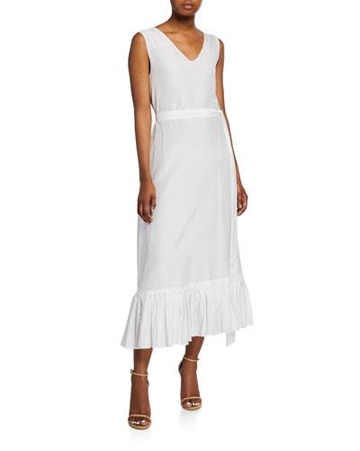The Heavenly V-Neck Sleeveless Dress