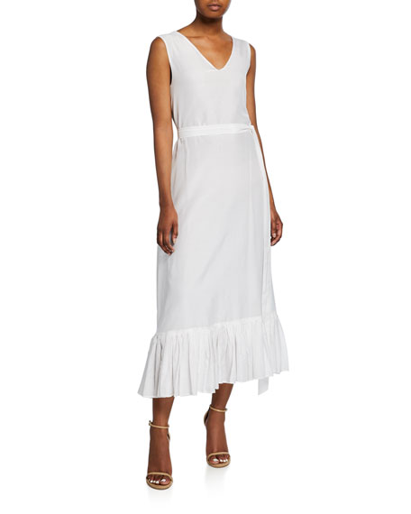 The Heavenly V-Neck Sleeveless Dress