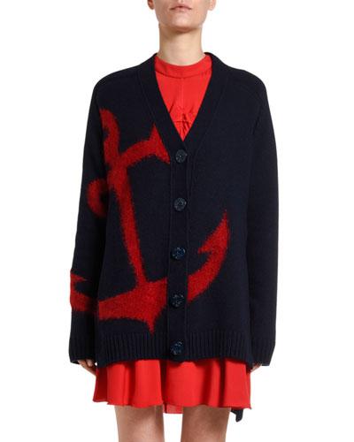 Anchor Wool Cardigan