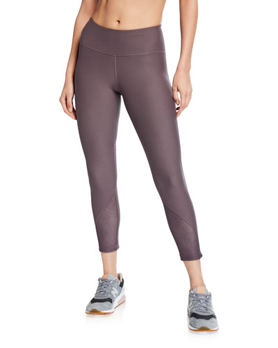Vanish Mesh Cropped Leggings