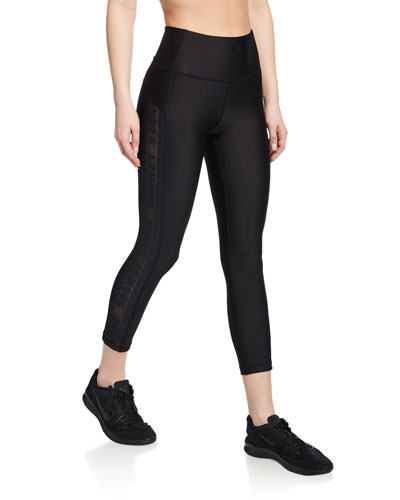 HeatGear Armour Ankle Crop Branded Leggings