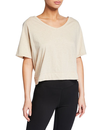 Marr 2.0 Cotton Open-Back Tee
